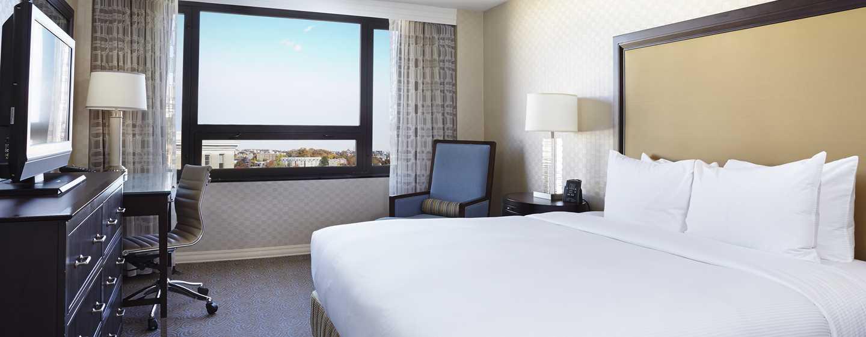 Hilton Washington Hotel, USA – Zimmer mit King-Size-Bett