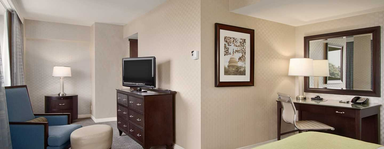 Hilton Washington Hotel, USA – Alcove King Gästezimmer
