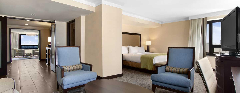 Hilton Washington Hotel, USA – Schlafzimmer der Präsidenten Suite