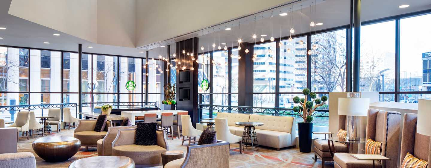 Hilton Denver City Center Hotel, CO, USA – Hotel Lobby