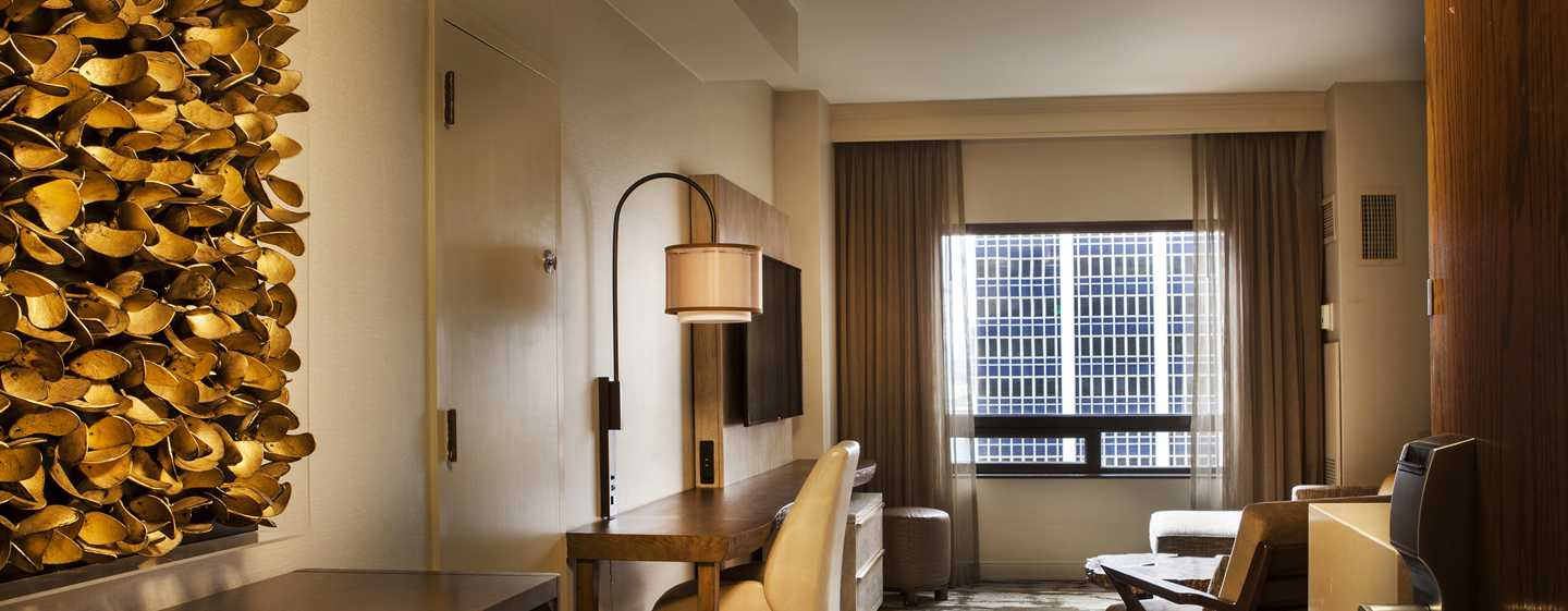 Hilton Denver City Center Hotel, CO, USA – Wohnzimmer eines Zimmers