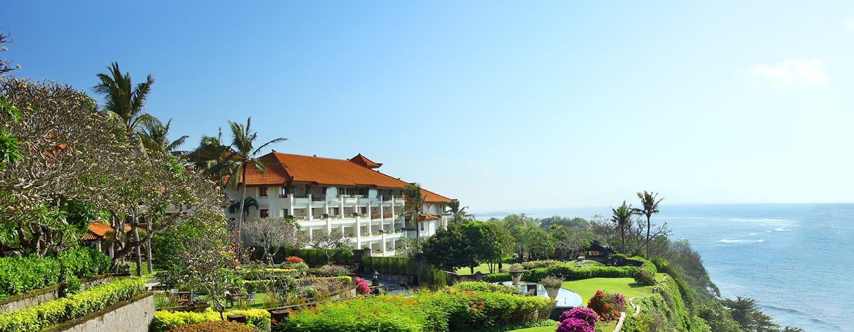 Hilton Bali Resort, Indonesien – Garten auf der Klippe