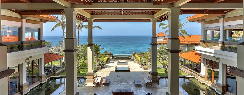 Hilton Bali Resort, Indonesien– Ausblick vom Lobby-Bereich