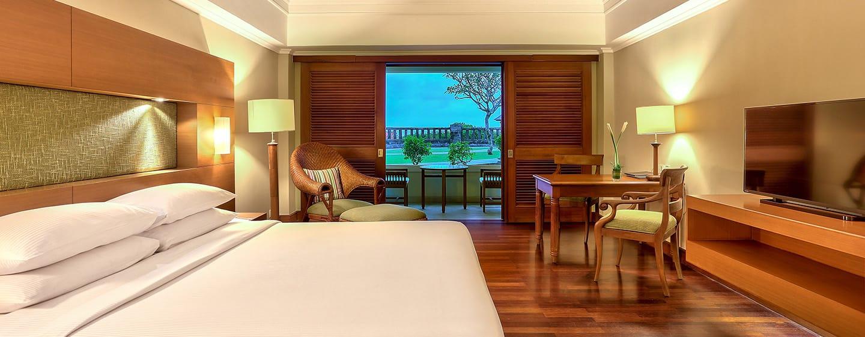 Hilton Bali Resort, Indonesien – Zimmer mit Gartenblick