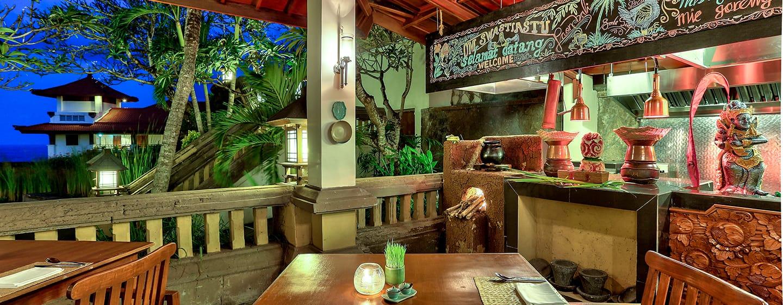 Hilton Bali Resort, Indonesien– Paon Bali Resto and Bar