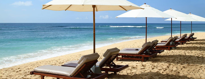 Hilton Bali Resort, Indonesien– Unberührter, weißer Sandstrand