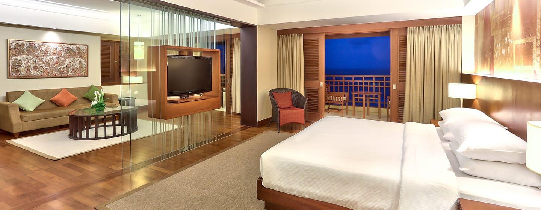 Hilton Bali Resort Hotel, Indonesien – Suite mit einem Schlafzimmer und Meerblick