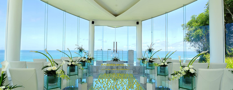 Hilton Bali Resort, Indonesien – Hochzeitskapelle Wiwaha, Innenausstattung