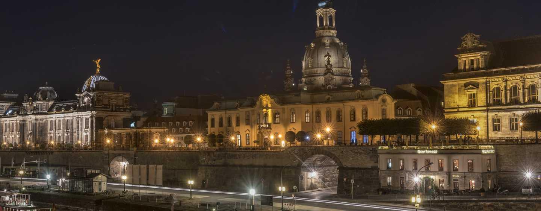 Hilton Dresden Hotel – Brühlsche Terrasse - direkt am Hilton Dresden