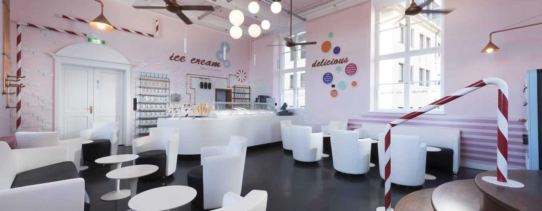 Hilton Dresden Hotel – Ice Cream Factory Dresden