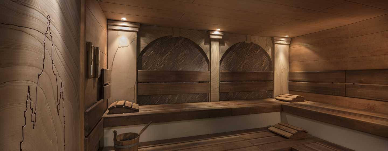 Hilton Dresden Hotel – LivingWell Health Club Finnische Sauna