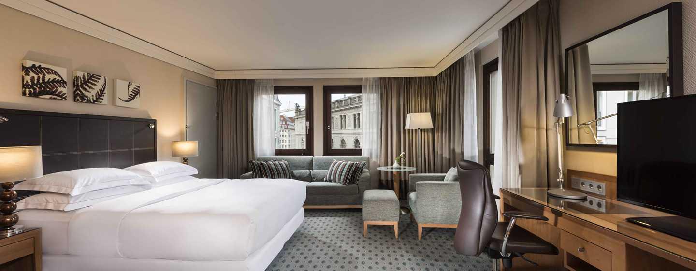 Hilton Dresden Hotel – Queen Hilton Executive Plus Family Zimmer