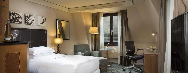 Hilton Dresden Hotel – Single Hilton Deluxe Zimmer
