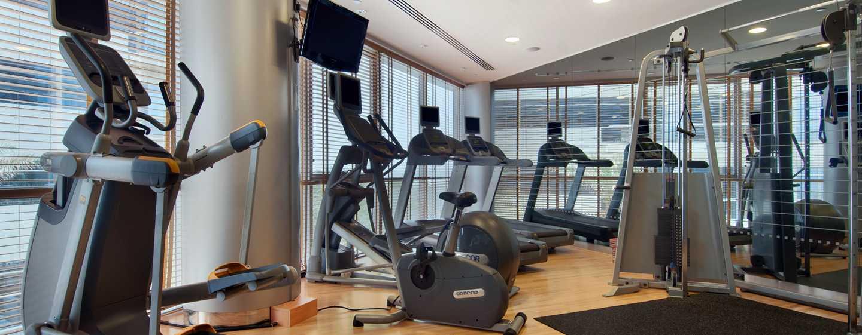 Hilton Dubai Creek Hotel, VAE– Fitnesscenter