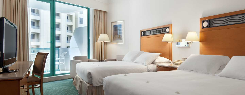 Hilton Dubai Jumeirah Hotel, Dubai, VAE– Deluxe Plus Zweibettzimmer
