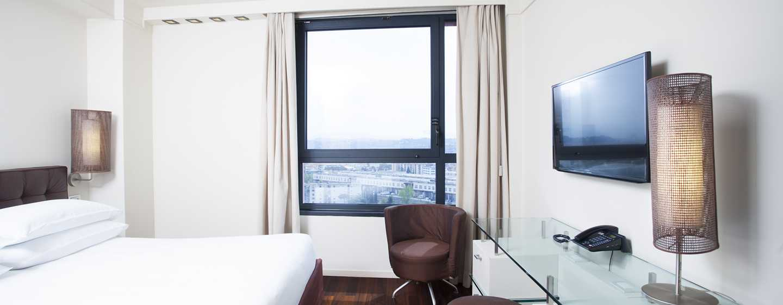 Hilton Florence Metropole Hotel, Italien– Hilton Zimmer mit Stadtblick