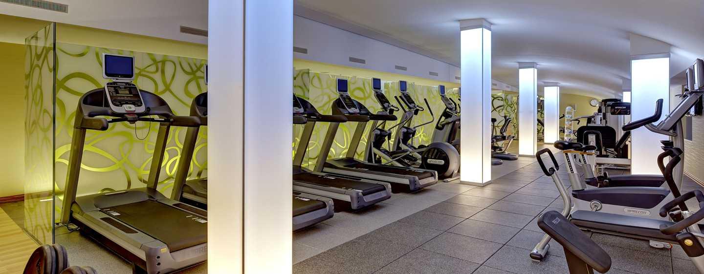 Hilton Frankfurt Airport Hotel, Deutschland – Fitnesscenter