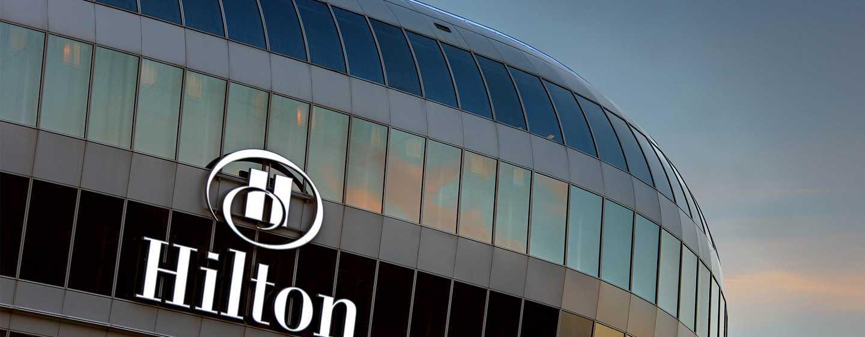 Hilton Frankfurt Airport Hotel, Deutschland – Außenbereich des Hotels
