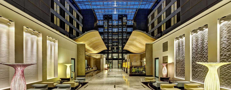 Hilton Frankfurt Airport Hotel, Deutschland– Hotel-Lobby