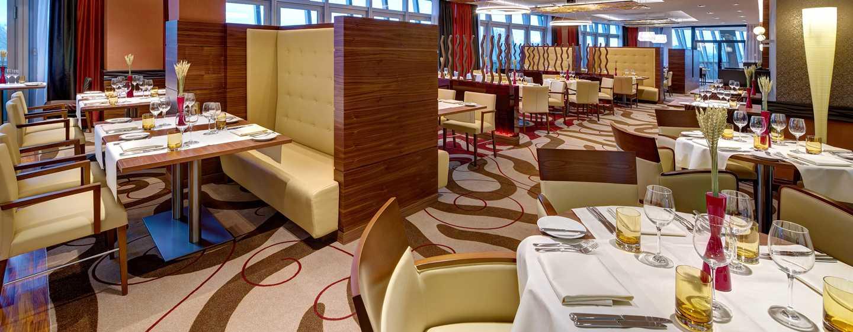 Hilton Frankfurt Airport Hotel, Deutschland– Restaurant RISE