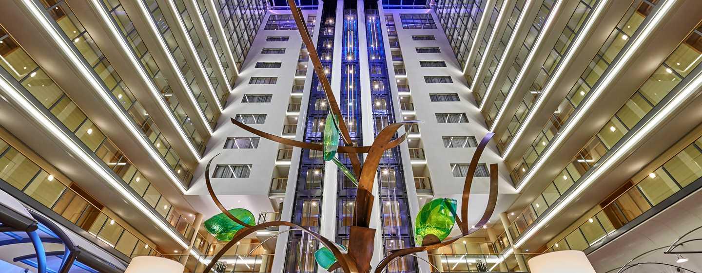 Hilton Frankfurt City Centre Hotel, Deutschland– Lobby