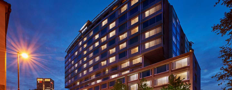 Hilton Frankfurt City Centre Hotel, Deutschland– Begrüßung