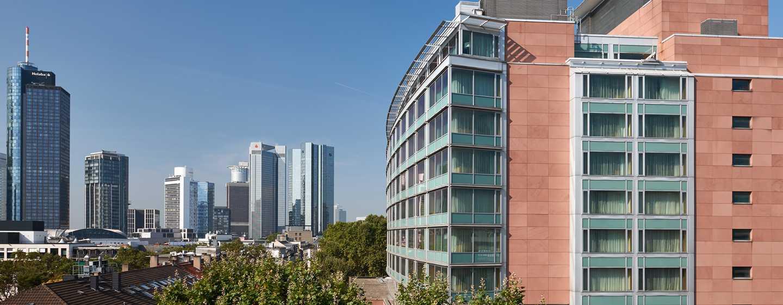 Hilton Frankfurt City Centre Hotel, Deutschland– Ausblick auf die Skyline
