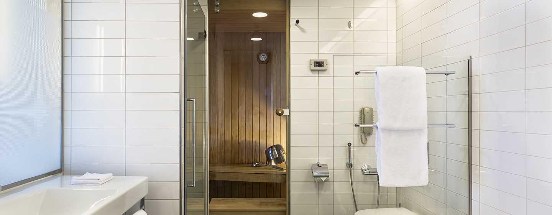 Hilton Helsinki Airport, Finnland– Viele Zimmer mit privater Sauna
