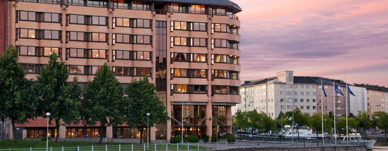Hilton Helsinki Strand Hotel, Finnland– Außenbereich des Hotels