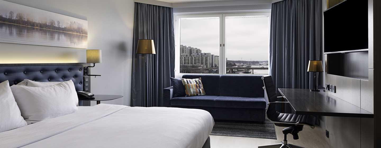 Hilton Helsinki Strand Hotel, Finnland– Plus Zimmer mit Kingsize-Bett
