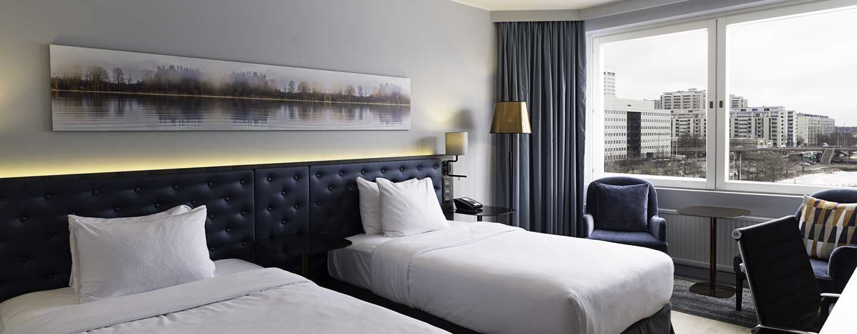 Hilton Helsinki Strand Hotel, Finnland– Plus Zweibettzimmer