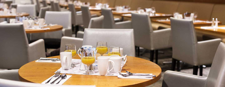 Hilton Helsinki Kalastajatorppa Hotel, Finnland– Restaurant Oceana– Frühstück