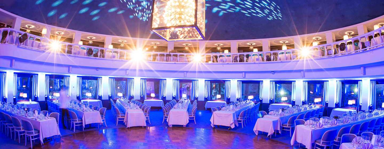 Hilton Helsinki Kalastajatorppa Hotel, Finnland– Ikonischer Veranstaltungsort Round Room