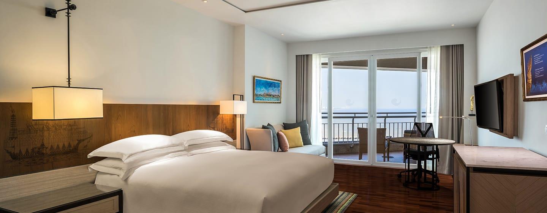 Hilton Hua Hin Resort & Spa Hotel, Thailand – Executive Zimmer mit Meerblick