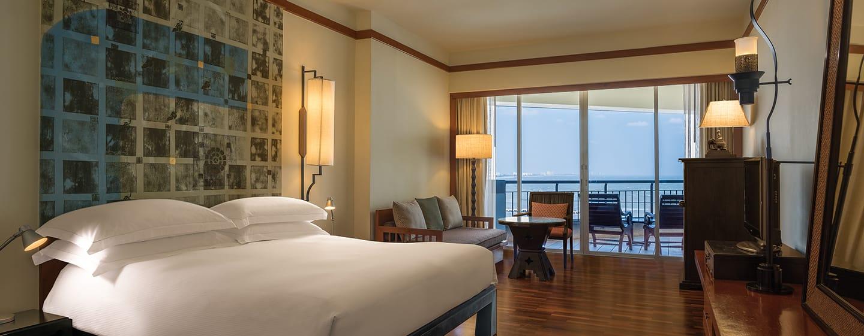 Hilton Hua Hin Resort & Spa Hotel, Thailand – Deluxe Zimmer mit Meerblick