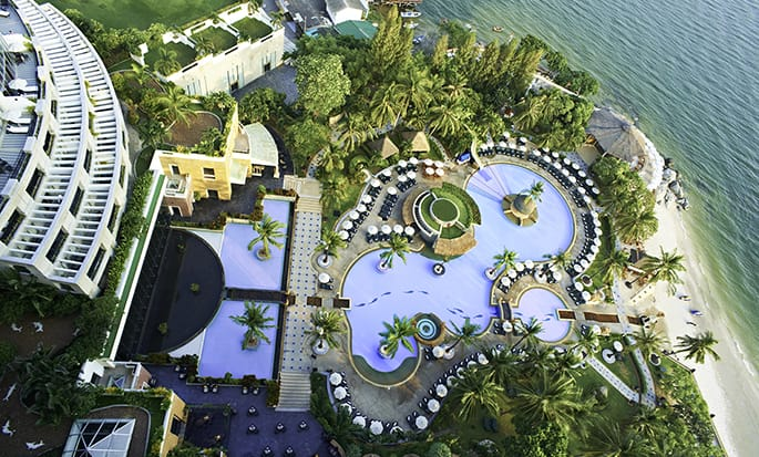 Hilton Hua Hin Resort & Spa Hotel, Thailand – Swimmingpool