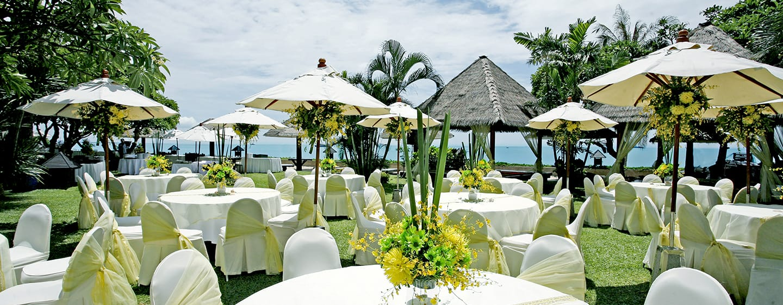 Hilton Hua Hin Resort & Spa Hotel, Thailand – Events im Freien