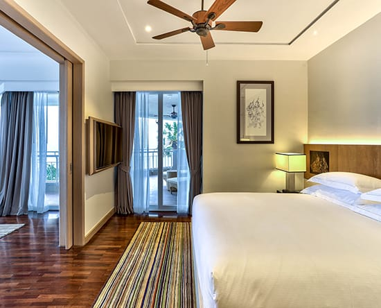 Hilton Hua Hin Resort & Spa hotel, Thailand - EXECUTIVE SUITE MIT KINGSIZE-BETT UND MEERBLICK