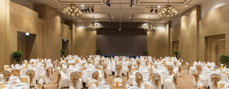 Hilton Hua Hin Resort & Spa Hotel, Thailand – Ballsaal mit Dinner-Bestuhlung