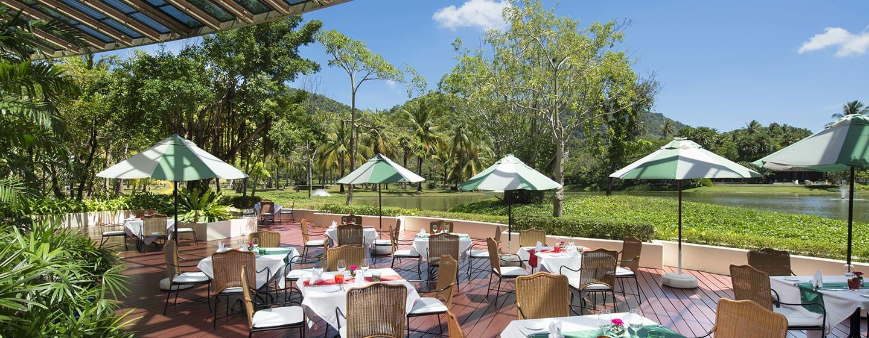 Hilton Phuket Arcadia Resort & Spa Hotel, Thailand– Außenansicht– Restaurant Buon Appetito