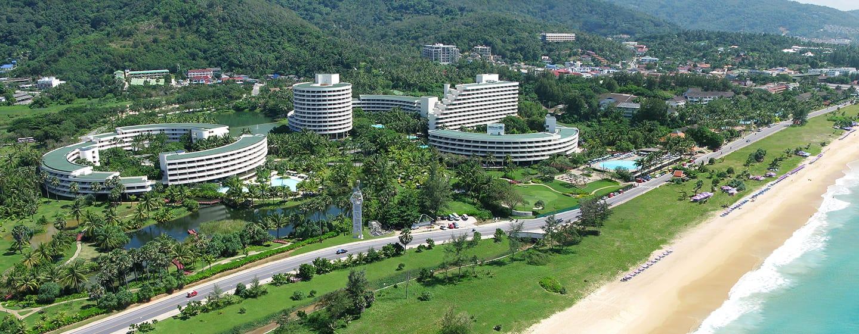 Hilton Phuket Arcadia Resort & Spa Hotel, Thailand– Außenansicht