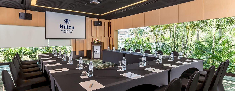 Hilton Phuket Arcadia Resort & Spa Hotel, Thailand– Meetingraum