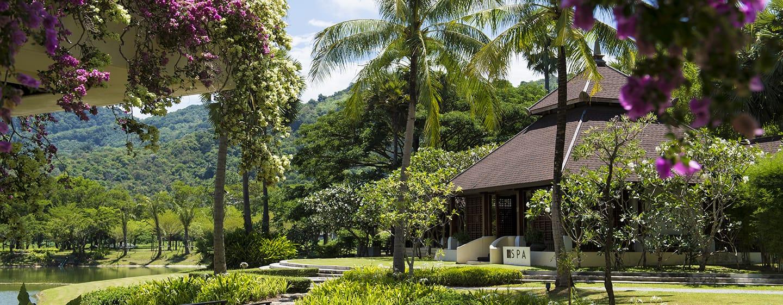 Hilton Phuket Arcadia Resort & Spa Hotel, Thailand– Außenansicht des Spa