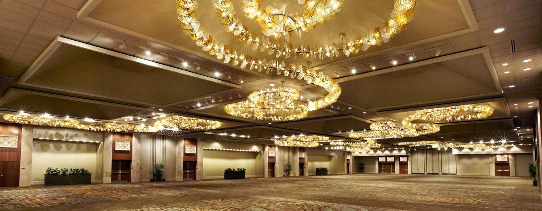 "Hilton Hawaiian Village Waikiki Beach Resort Hotel, Honolulu, Hawaii, USA– Ballsaal ""Coral"""