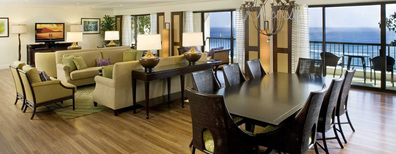 Hilton Hawaiian Village Waikiki Beach Resort Hotel, Honolulu, Hawaii, USA– Suite imAli'i Tower