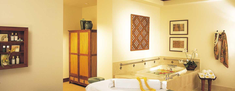 Hilton Hawaiian Village Waikiki Beach Resort Hotel, Honolulu, Hawaii, USA– Spa-Suite für zwei Personen