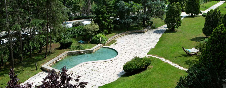 Hilton Istanbul Bosphorus Hotel, Türkei– Garten