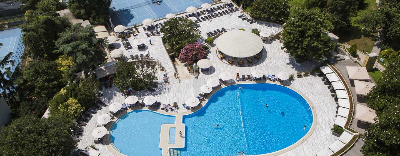 Hilton Istanbul Bosphorus Hotel, Türkei– Außenpool