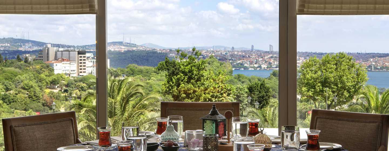 "Hilton Istanbul Bosphorus Hotel, Türkei– Restaurant mit Terrasse ""Bosphorus"""