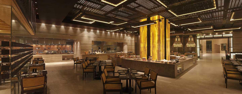 Hilton Jaipur Hotel, Indien – Aurum – Ganztägig geöffnetes Restaurant